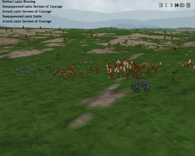 Dominions 4  - Combat Screen Description