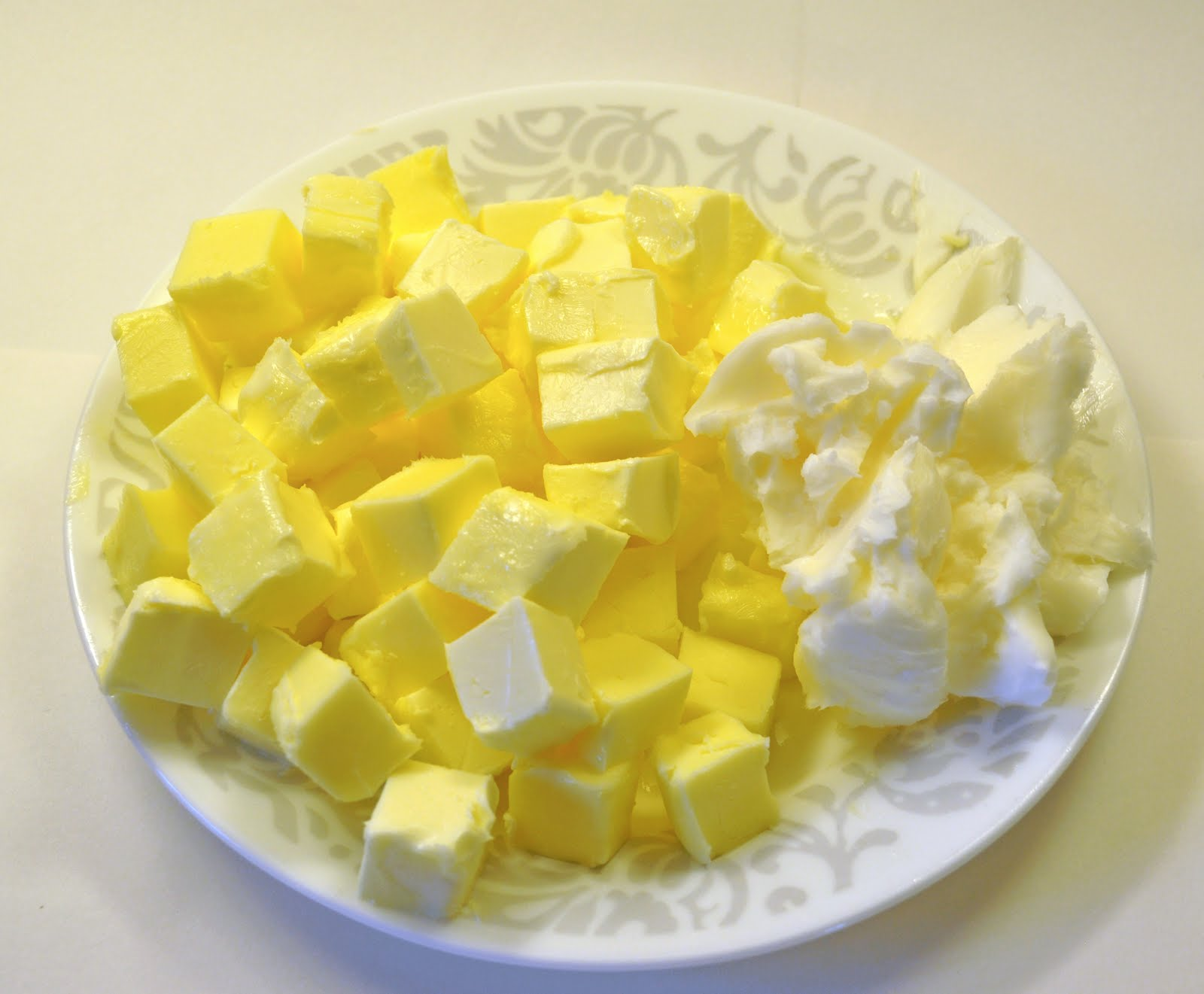 how to cut 80g of butter