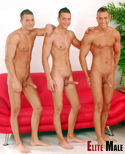 Male triplets naked