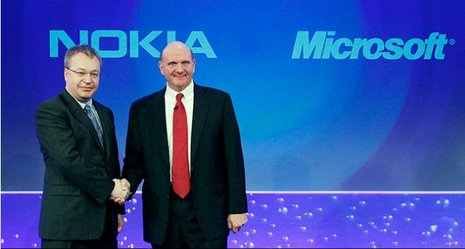 مايكروسوفت تنتهي من شراء قطاع الاجهزة المحمولة لنوكيا
