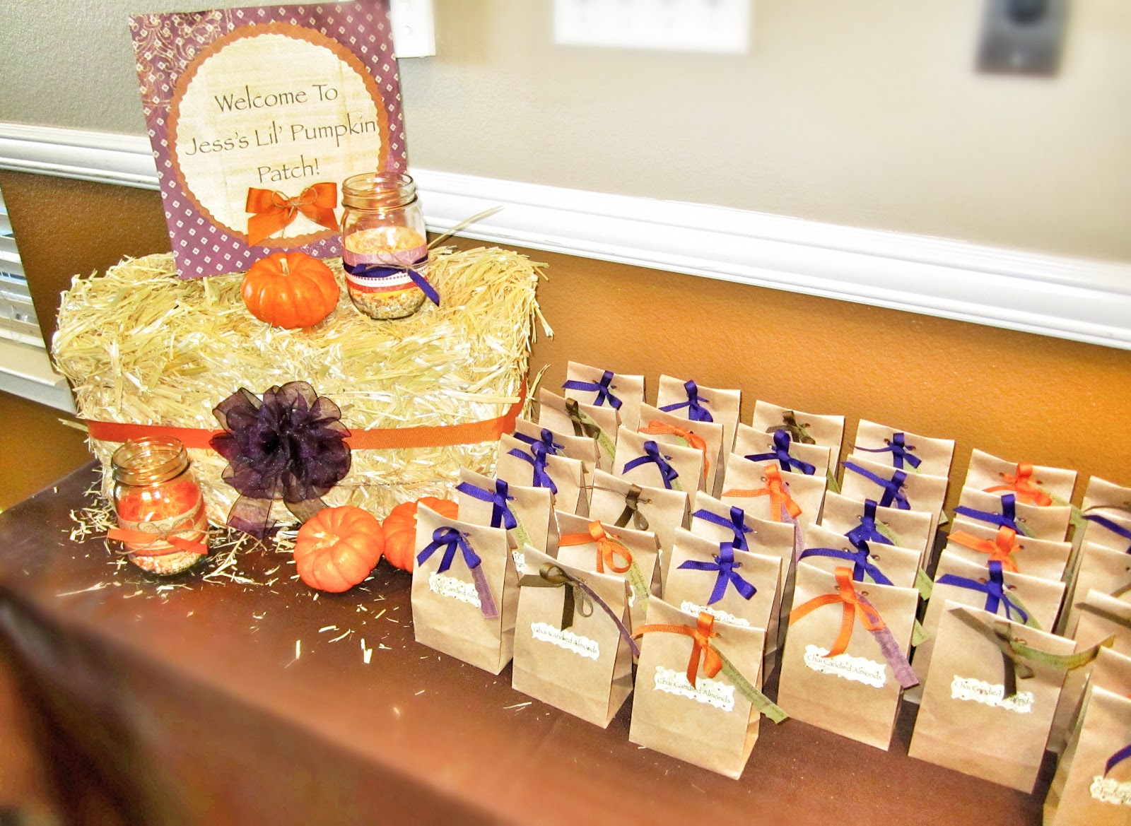 The Domestic Doozie Lil Pumpkin Baby Shower