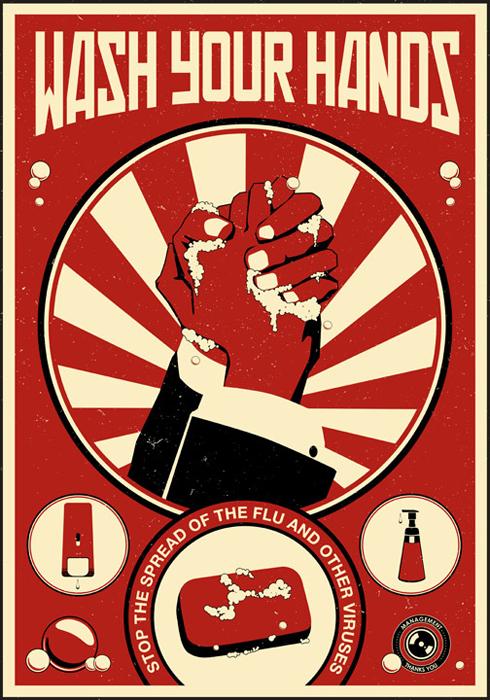 Wash Your Hand Propaganda