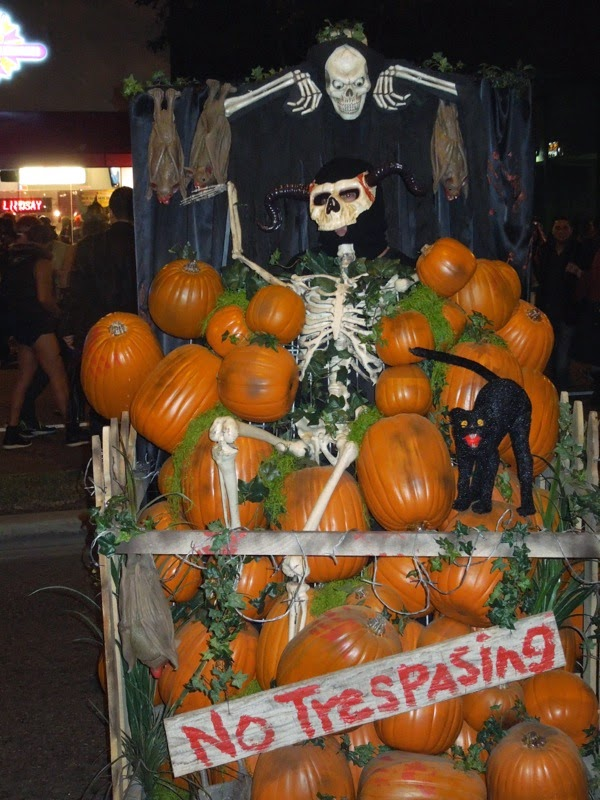 West Hollywood Halloween Carnaval pumpkin patch costume