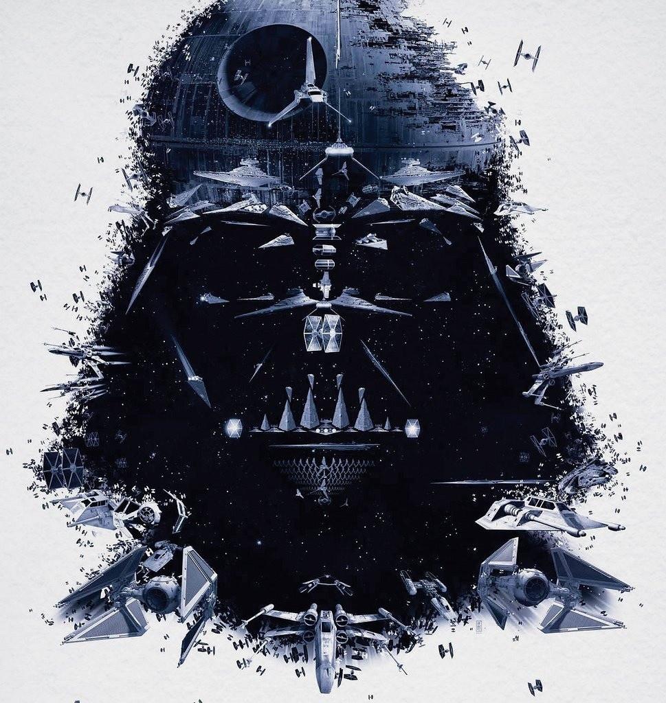 Darth Vader - made of everything Star Wars