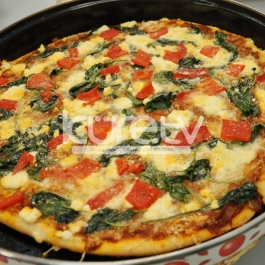 Tulum Peynirli Ispanaklı Pizza Tarifi Kolay Pizza Tarifi