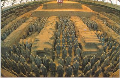 Guerreiros de Terracota em Xi'an