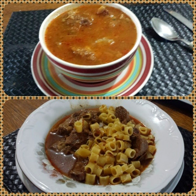 Sopa de Cebola com carne e gengibre low carb high fat