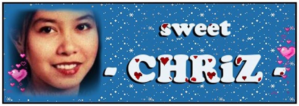 - sweet CHRiZ -