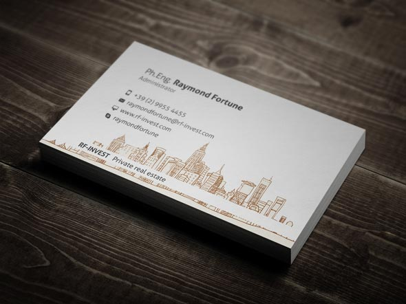 30 best examples of real estate business card designs jayce o yesta real estate business card designs reheart Gallery