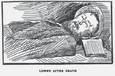 Fred Lowry the bushranger after death