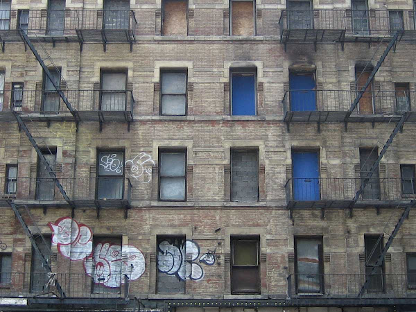 Boarded Up - At 8th Ave. & 46th St.