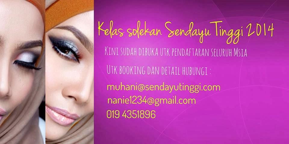 Yatie Sendayu Tinggi: ST Make Up Class 2014