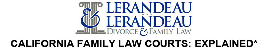 CALIFORNIA FAMILY LAW COURTS: EXPLAINED