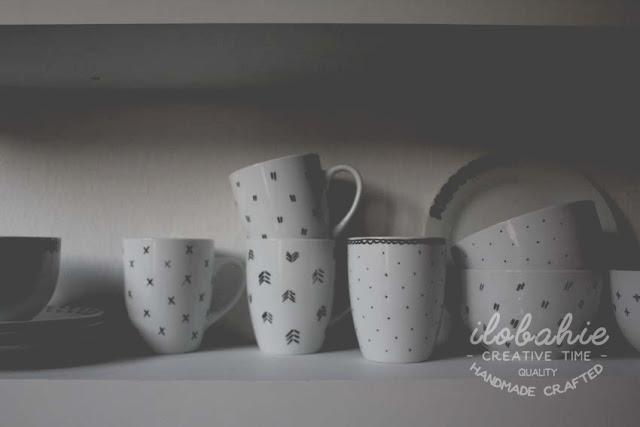 Ręcznie malowane naczynia