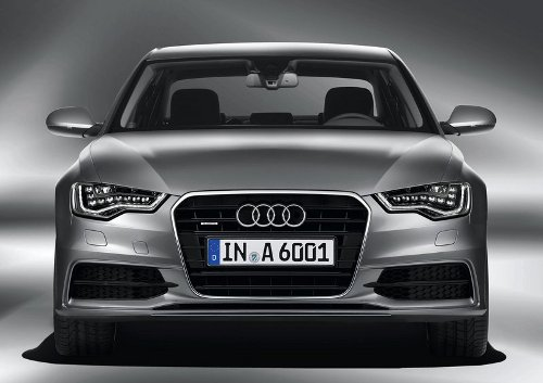 2 of 7 - 2012 Audi A6 Front Angle Pictures