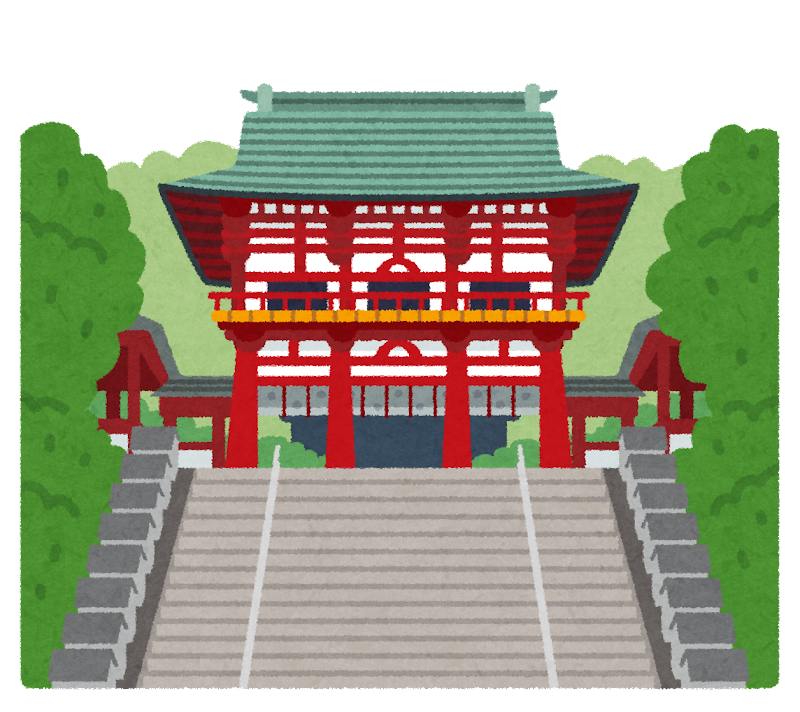 近江神宮のイラスト 無料イラスト かわいいフリー素材集: 近江神宮のイラスト