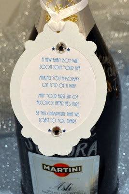 First Comes Love Baby Shower Activity Champagne Toast
