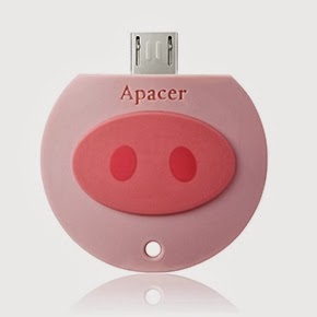 Pinky Piglet USB memory stick