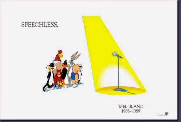 Mel Blanc Speechless Poster