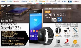 Launching Sony Xperia Z3+ dual SIM Juni 2015
