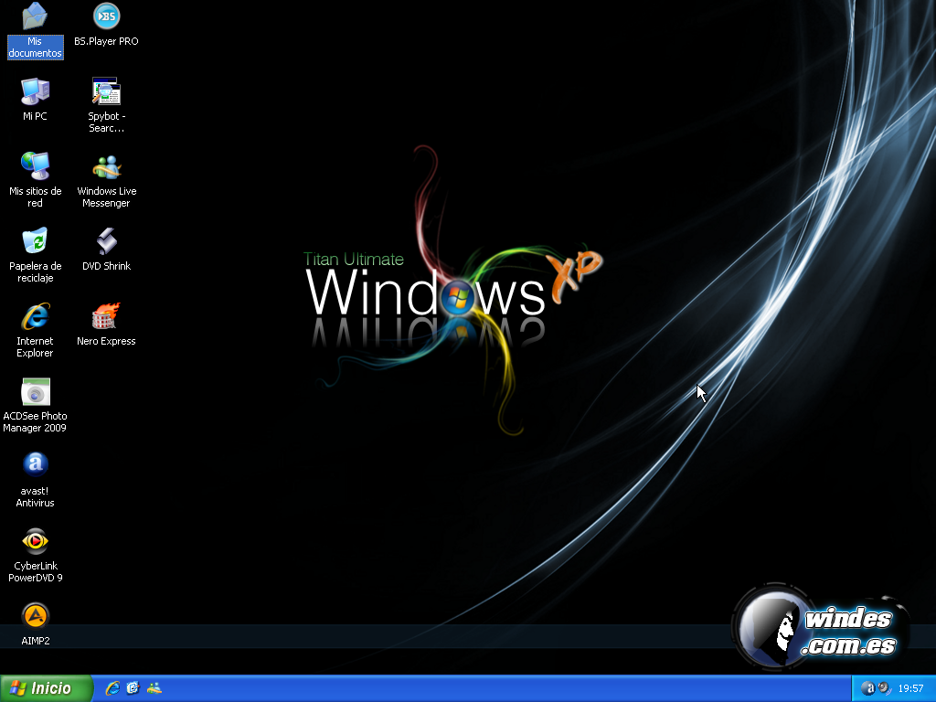DESATENDIDOS: Windows XP SP3 Lite ISO En Espaol - 216MB