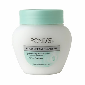 Pond's, Pond's Cold Cream Cleanser, cleanser, skin, skincare, skin care, Halloween makeup, makeup remover