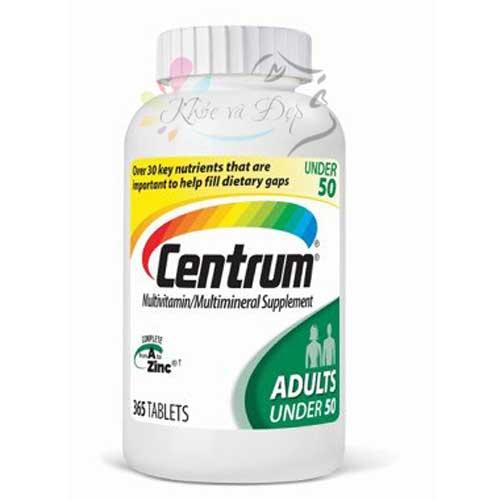 Centrum Adults 365 Viên - Vitamin tổng hợp của Mỹ