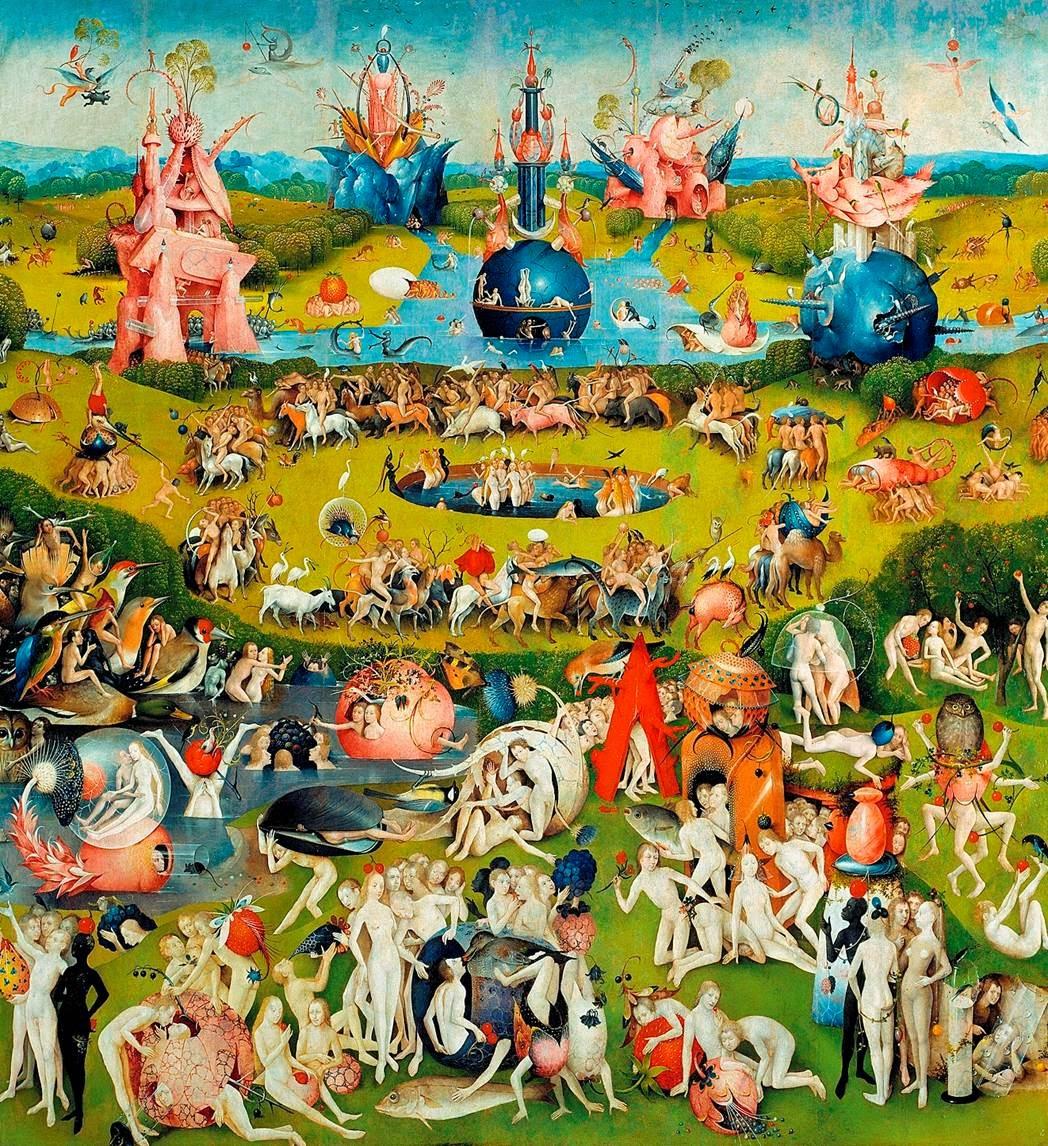 Historia del arte temas im genes y comentario el bosco for Bosco jardin de las delicias