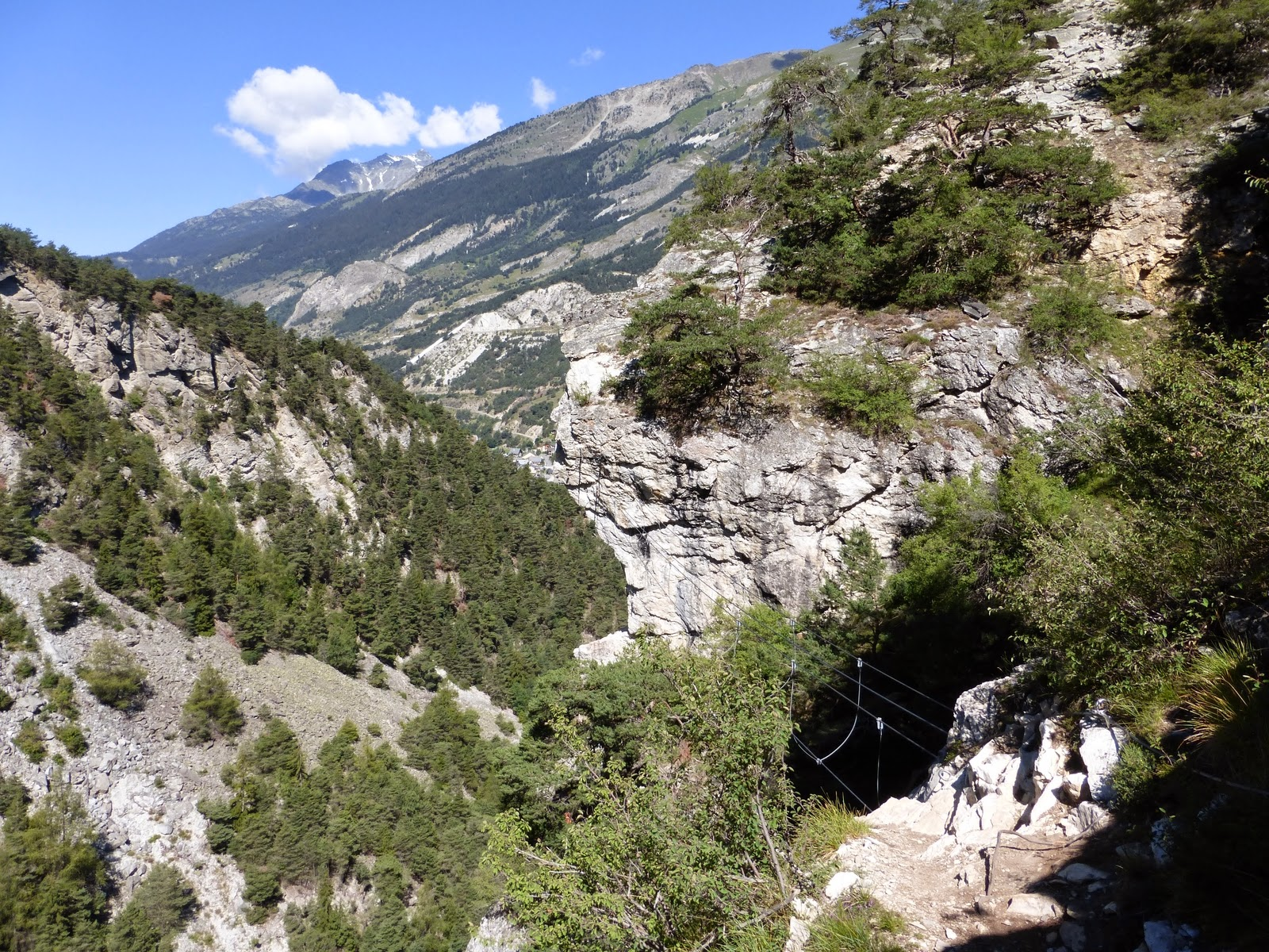 Via Ferrata du Diable (Les Rois Mages)