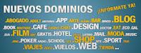 extensiones de dominio tomahost