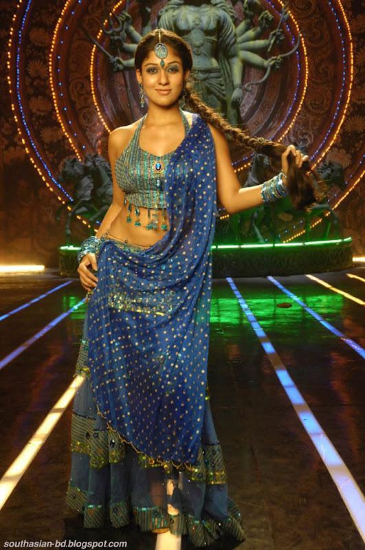 Nayantara In Super Kannada Movie Hot Navel Show Photos Pics sexy stills