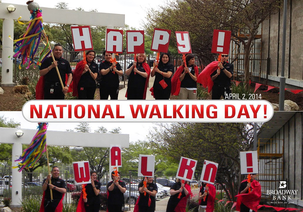 Happy National Walking Day