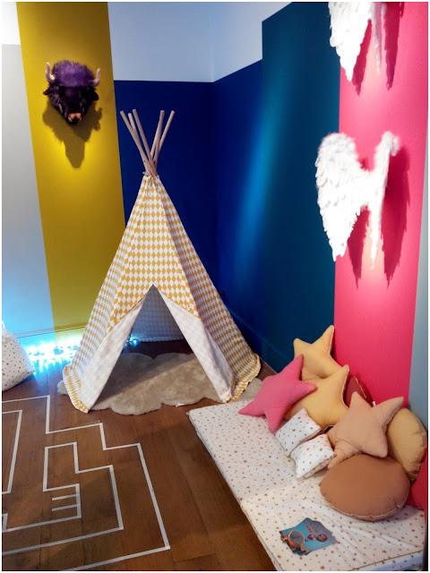 décoration, ressource, peinture, enfant, bullelodie