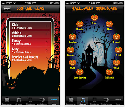 iPhone app - Halloween!