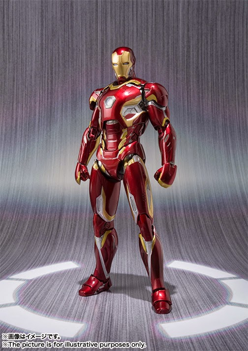 action figure iron man avengers