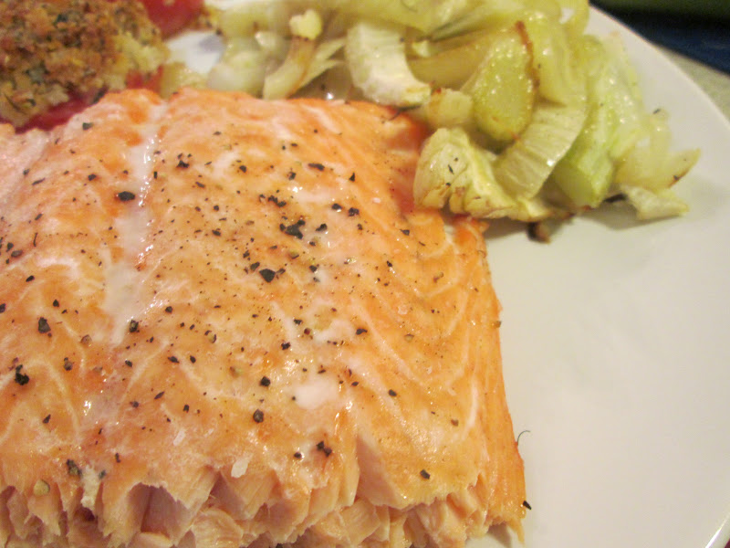 fennel roasted salmon ingredients 1 lb salmon 1 head fennel