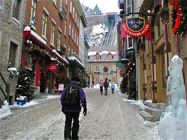 quebec city christmas magic guided walking tours of old quebec