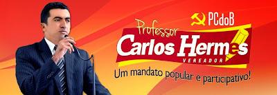 Blog do Vereador Professor Carlos Hermes