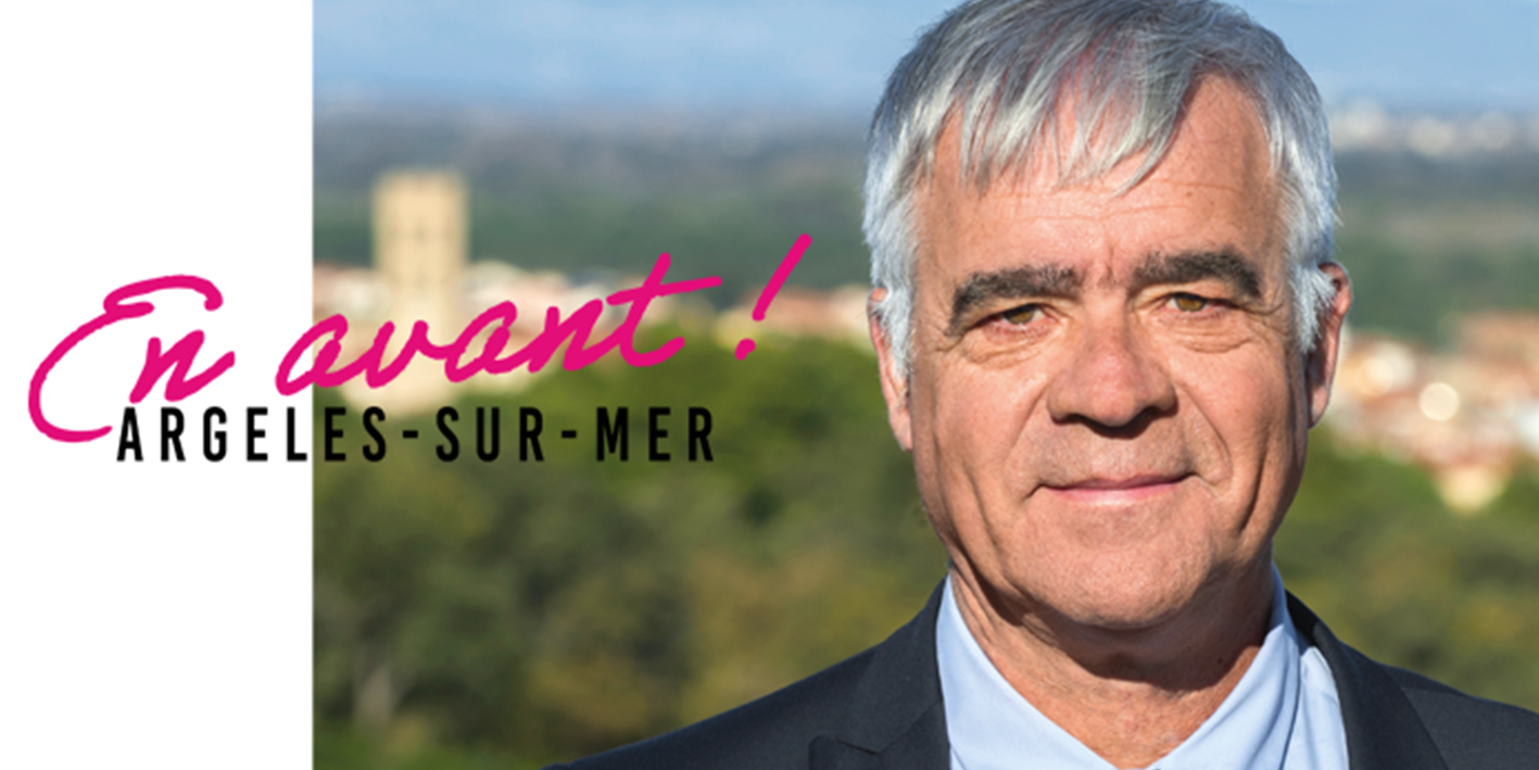 Antoine Parra, candidat aux élections municipales d'Argelès-sur-Mer