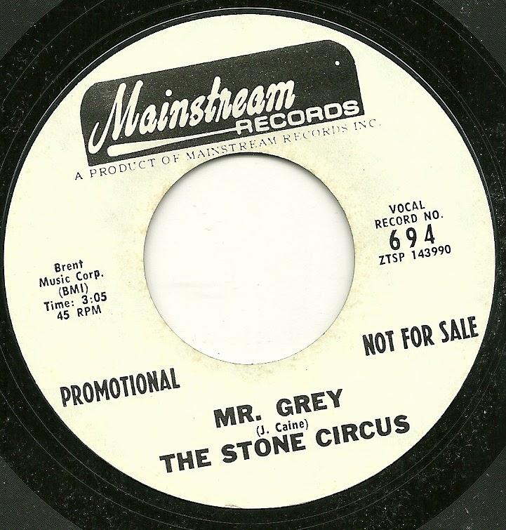 Stone Circus The Mr Grey