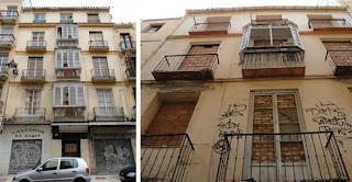 edificio histórico en ruina, calle Carretería 50