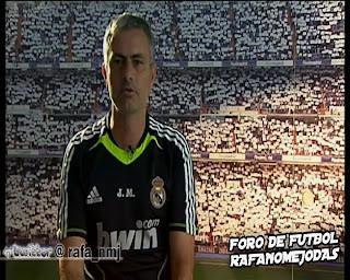 Jose Mourinho Mensaje Fin de Temporada 2010/11 Real Madrid Televisión