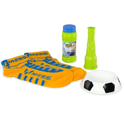 TOYS : JUGUETES - Foot Bubbles : Messi Juego de burbujas | Starter Pack | 2 Calcetines + burbujas Producto Oficial 2015 | Giochi Preziosi | A partir de 6 años Comprar en Amazon España