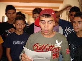 ACOLITOS DE CARIDADE, SE DESPEDEM DE FREI OSMAR. IPUARANA - LAGOA SECA-PB - 18/12/2011