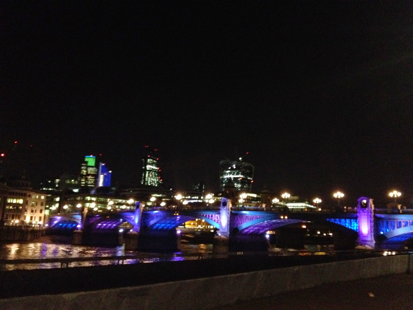 Southwark Bridge and the City of London (photo credit: http://researchandramblings.blogspot.com/)