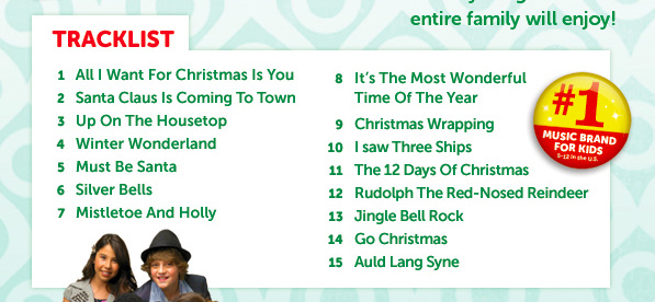 The Green Eyed Momma: {Review} Kidz Bop Christmas!
