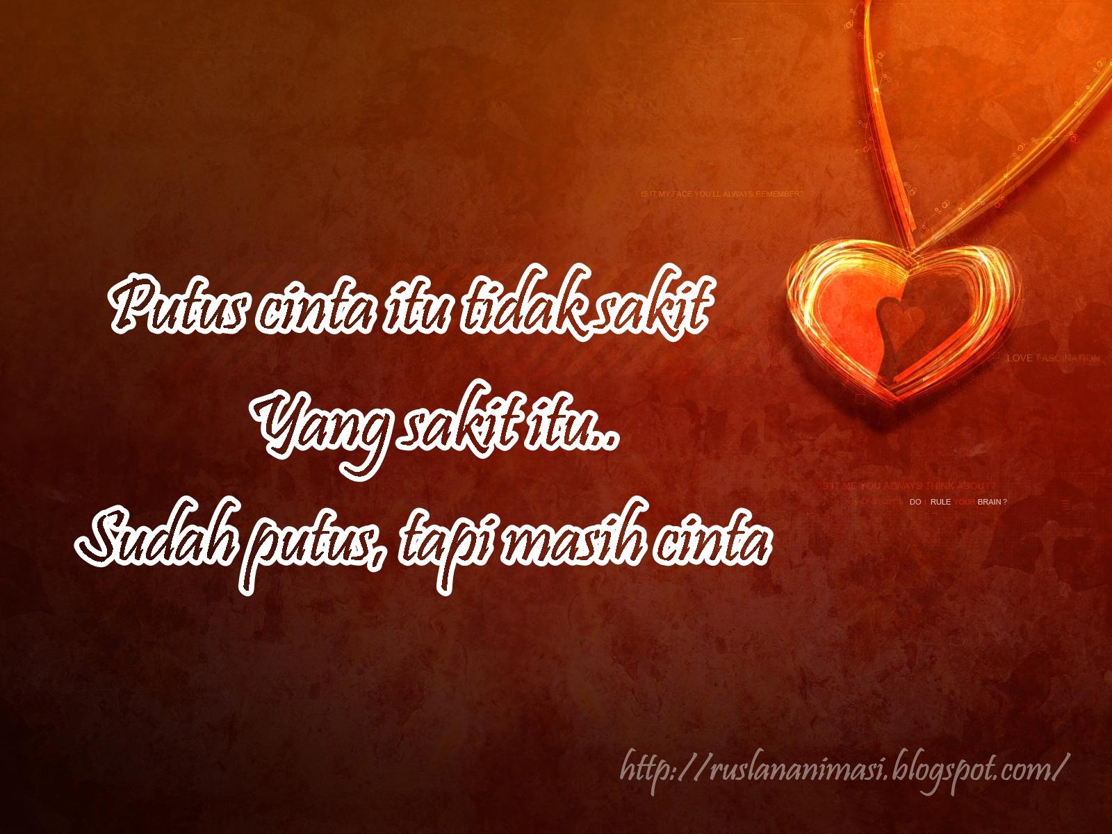 Gambar Wallpaper Kata Kata Putus Cinta Gudang Wallpaper