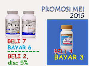 Promo May 15 ::: Omega, Phytocol dan Vitalea for Children