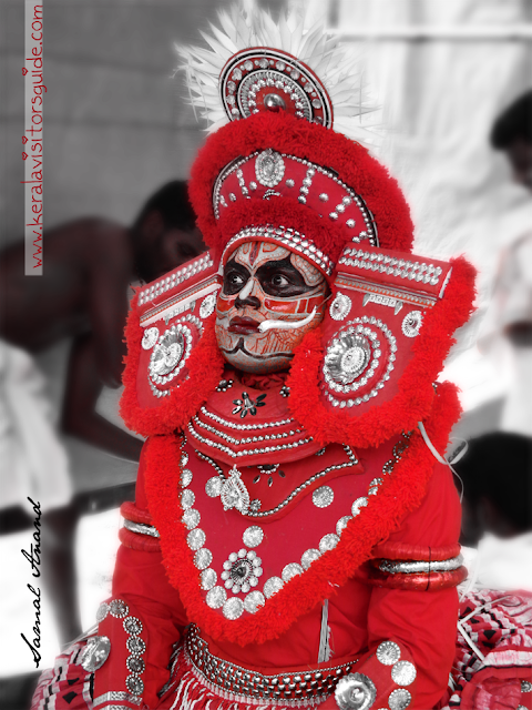 type of Theyyam living gods or north malabar kerala