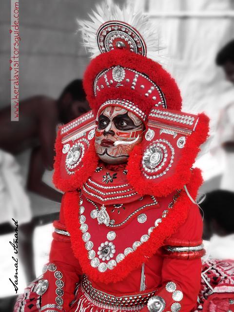 type of Theyyam living gods or north malabar kerala
